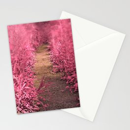 Windy Goose Creek Trail - Tickle Me Pink Stationery Cards