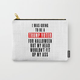 TRUMP VOTER FOR HALLOWEEN Carry-All Pouch