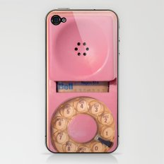 Pink Hotline iPhone & iPod Skin