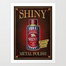 Vintage Shiny! Art Print