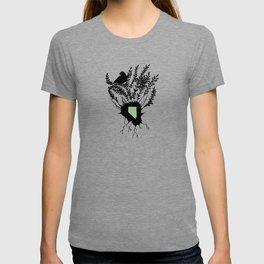 Nevada - State Papercut Print T-shirt
