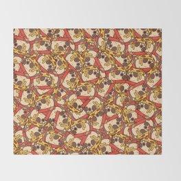 Puglie Pizza Throw Blanket