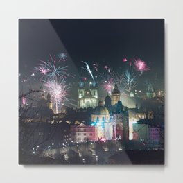 Fireworks in fairyland Metal Print