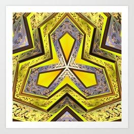 Aztec Key Art Print