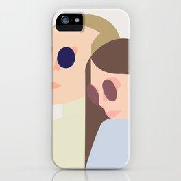 bonnie n clyde iPhone Case