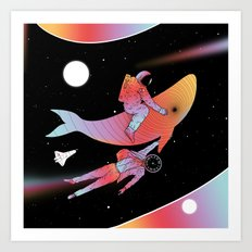 Coexistentiality 4 (A Journey Through Space and Time) Art Print
