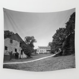 Mill Tract Farm, PA 1958 Wall Tapestry