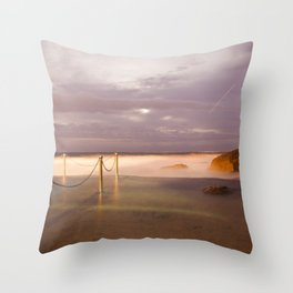 Coogee Long Exposure Throw Pillow