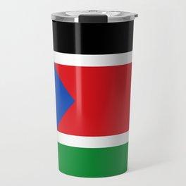 Flag of south sudan Travel Mug