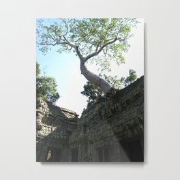 Ta Prohm Temple, Cambodia Metal Print