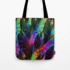 Rainbow Leaves Tote Bag