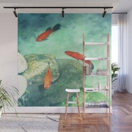 Fish watercolor III Wall Mural