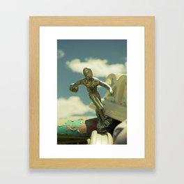 The Bowler Framed Art Print