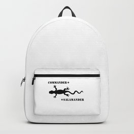 Commander Salamander Backpack