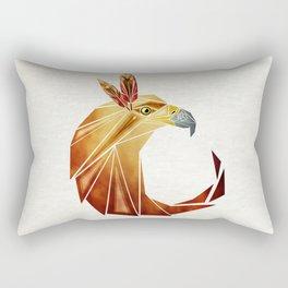 eagle cercle Rectangular Pillow