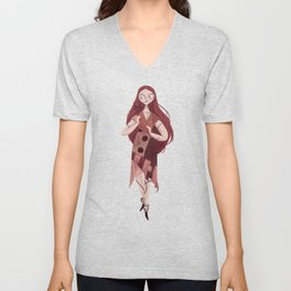 Sally Unisex V-Neck