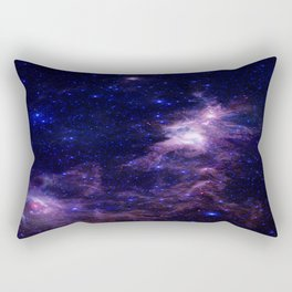 gAlAXY Purple Blue Rectangular Pillow