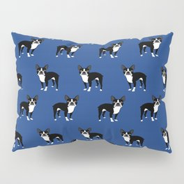 Boston Terrier dog breed pet friendly pattern simple basic dog lover gifts Pillow Sham