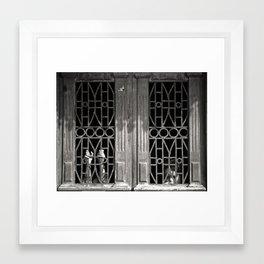 Trapped Inside Framed Art Print
