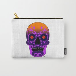 Sunset Skull Carry-All Pouch