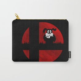 Smash and Laugh (red) Carry-All Pouch
