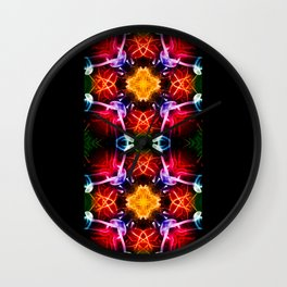 DNA 3 Wall Clock