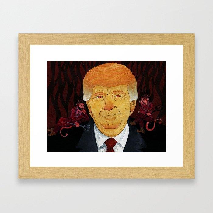 Posession Framed Art Print