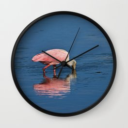 Pink for a Drink Wall Clock