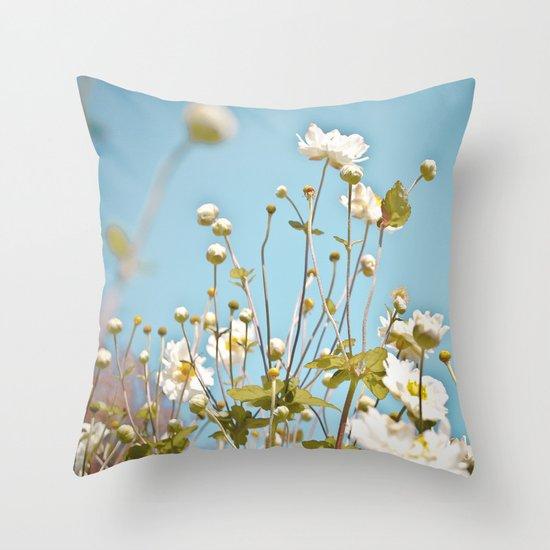 At Your Fingertips Throw Pillow