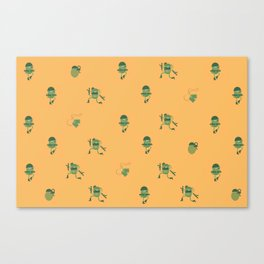"Movie Patterns - ""Tuesday War"" Canvas Print"