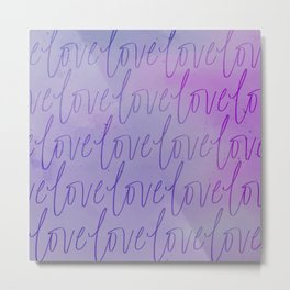 All the Lavendar Love Metal Print