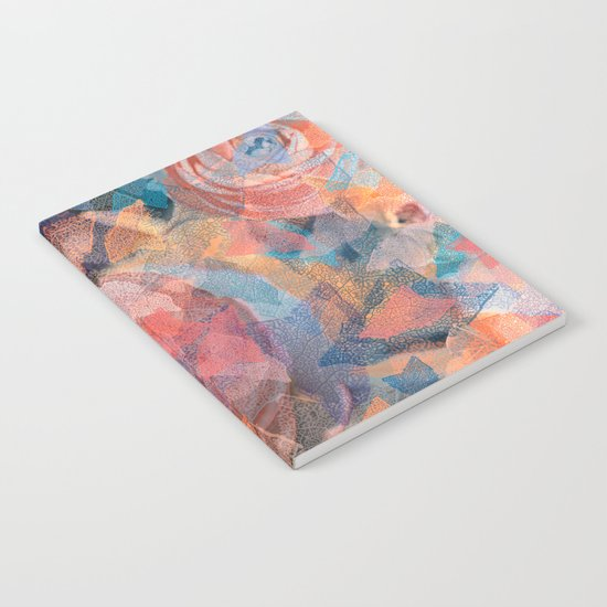 Leaf mosaic(19). Notebook