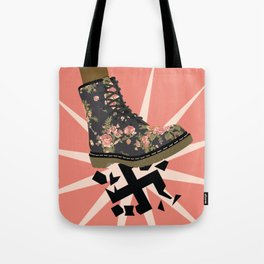 Smash Facism Tote Bag