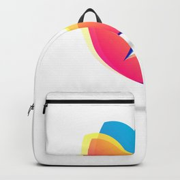 Pretty Colorful Butterfly Backpack