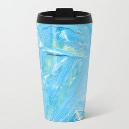 Beach Light Blue Acrylic Travel Mug