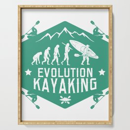 Evolution Kayaking Serving Tray