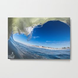Superimposed Element Metal Print