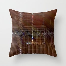 metro plan Throw Pillow