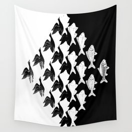 Escher - Sky and Water Wall Tapestry