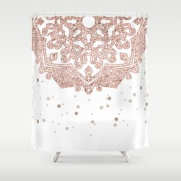 Peaceful showers Shower Curtain