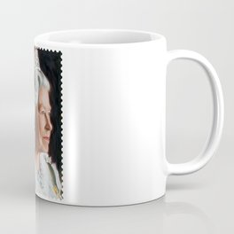 QUEEN ELIZABETH II STAMP Coffee Mug