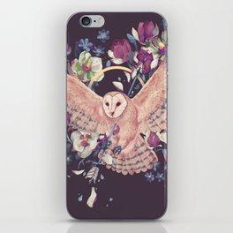 Fury and tyto alba iPhone Skin
