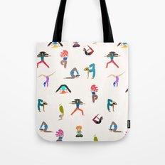 yoga lovers Tote Bag