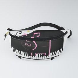 Cat Musician Fanny Pack