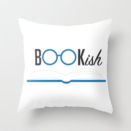My Reading Glasses Throw Pillow