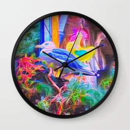 The Quare One Wall Clock