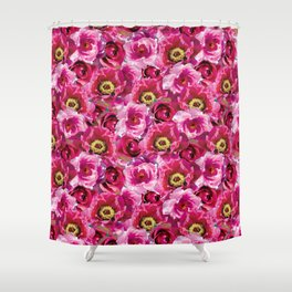 Flower Print by Everett Co Shower Curtain