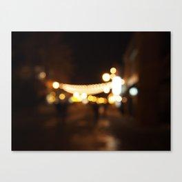 pretty lights Canvas Print