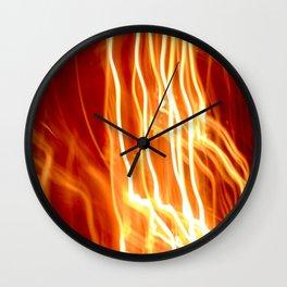 Flash. Wall Clock