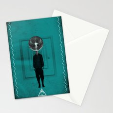 disco man Stationery Cards